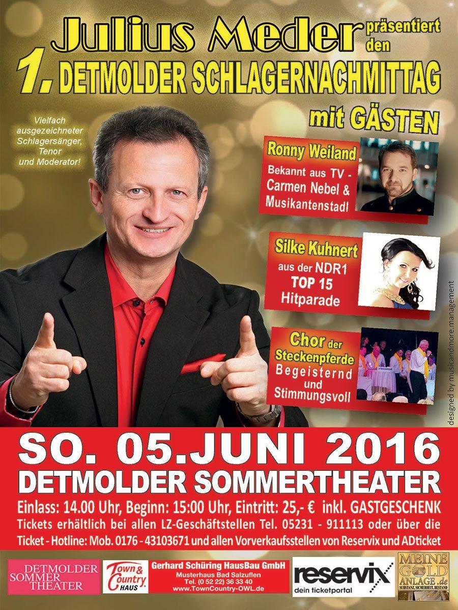 PRESSEMITTEILUNG-JM 2016 Detmolder Schlagernachmittag